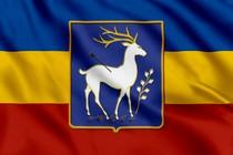 Флаг Донских казаков с гербом