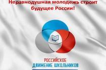 Флаг Российское движение школьников (РДШ)
