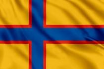 Флаг Российское общество ингерманландских финнов