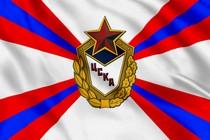 Флаг Центральный спортивный клуб Армии (ЦСКА)