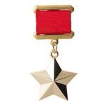 Медаль «Золотая Звезда Героя Советского Союза», муляж