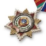 Удостоверение к награде Орден Дружбы народов, муляж
