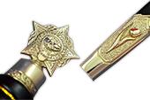 Купить бланк удостоверения Кортик «Афган» офицерский наградной (парадный)