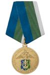 Медаль УМВД по ХМАО-Югре «За содействие в обеспечении правопорядка» с бланком удостоверения