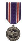 Медаль «Победили вместе. К 65-летию окончания II Мировой войны» с бланком удостоверения