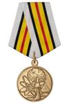 Медаль «Ветеран подразделений особого риска» с бланком удостоверения