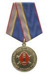 Медаль «80 лет оперативной службе УИС» с бланком удостоверения