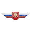 Должностной знак командира отдельного дисциплинарного батальона (Военная полиция) №126