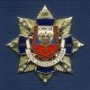 Знак с фианитами «15 лет ОМОН Приволжского УВД на транспорте»