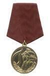 Медаль «За отличие в борьбе с огнем» с бланком удостоверения