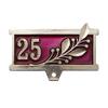 Колодка к знаку/медали 25 (серебро)