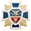 Почетный Знак Терского казачьего войска I ст. с бланком удостоверения